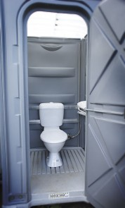 image of porable toilet
